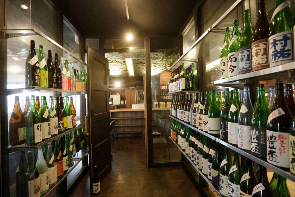 会場の日本酒居酒屋